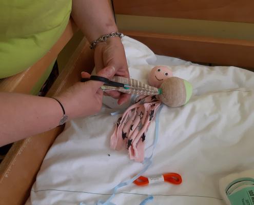 Ponožková dílna na II. interní klinice